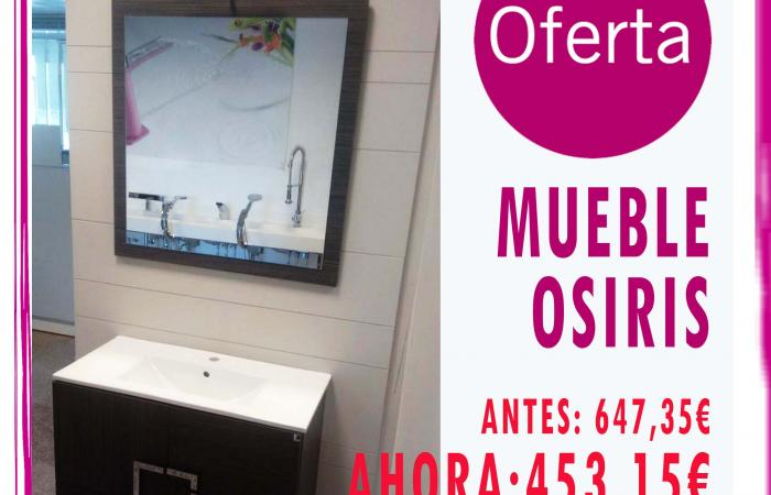 OFERTA MUEBLE OSIRIS